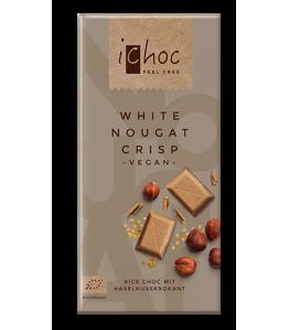 Ichoc White Nougat Crisp ØKO